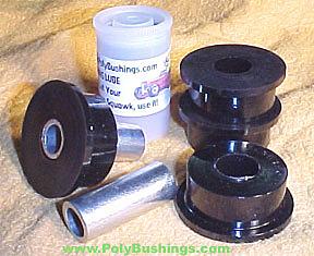 polyurethane track arm bushing kit